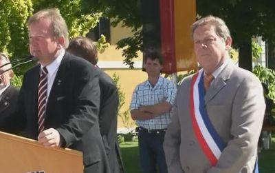 Maires de Gamlitz et de Trans en Provence