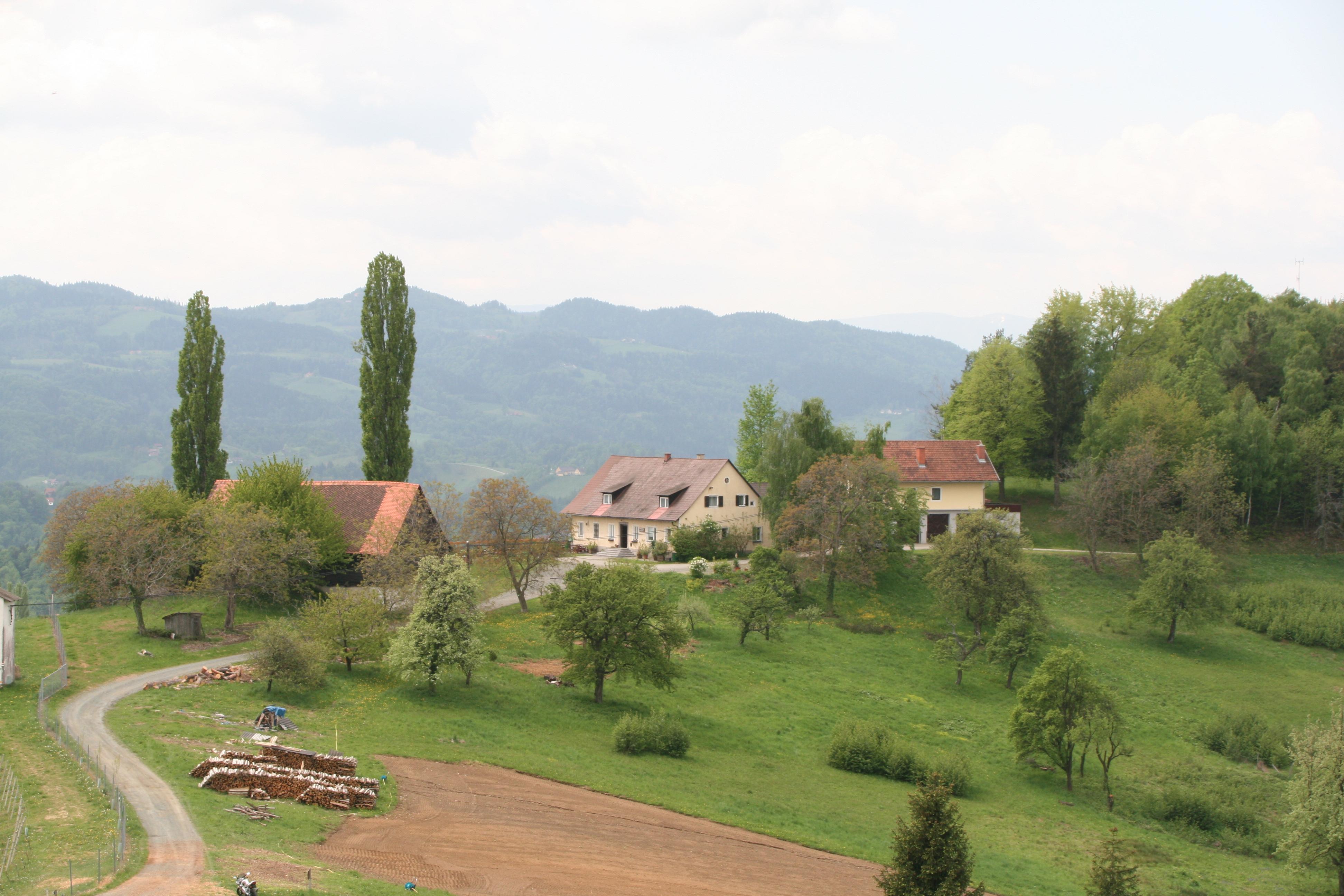 Vue sur la campagne de Gamlitz