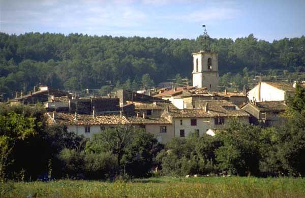 Vue du village et son clocher