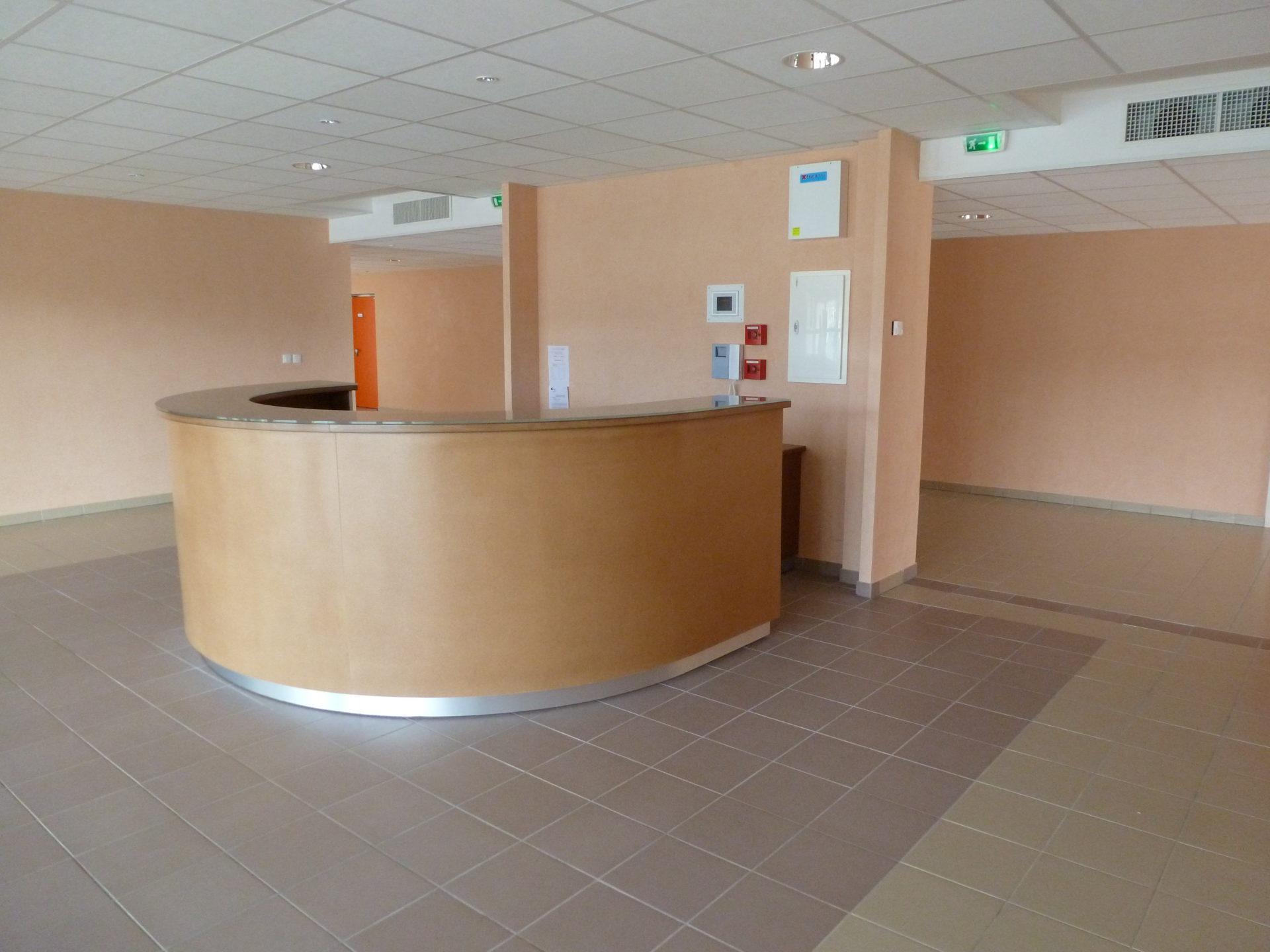 Hall de la salle polyalente