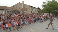 Flashmob de l'école 2019