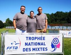 Équipe des Archers au trophée des mixtes 2019