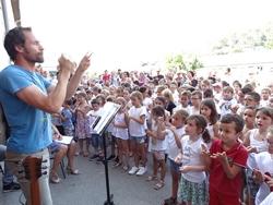 Chorale de l'école élémentaire 2019