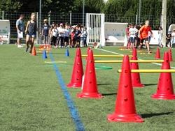 Parcours d'obstacle de l'après-midi sport scolaire 2019