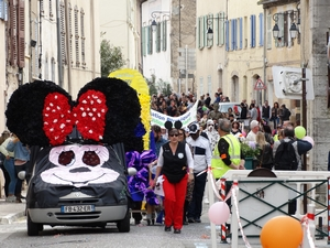 Tête du cortège du Carnaval 2020