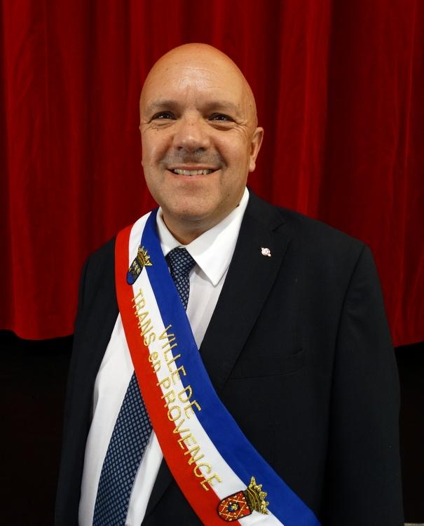 M. Alain CAYMARIS, Maire de Trans en Provence