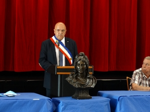 M. Caymaris, élu Maire de Trans en Provence