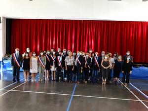 Les nouveaux membres du Conseil Municipal