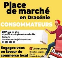 Lancement de la plateforme de commerce en ligne «Place de marché en Dracénie»