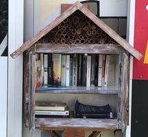 Une deuxième boîte à livres est installée !