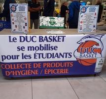 Duc Basket : collecte pour les étudiants varois