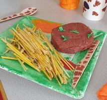 Exposition Eat-Art de la classe de Mme BECHARIAT