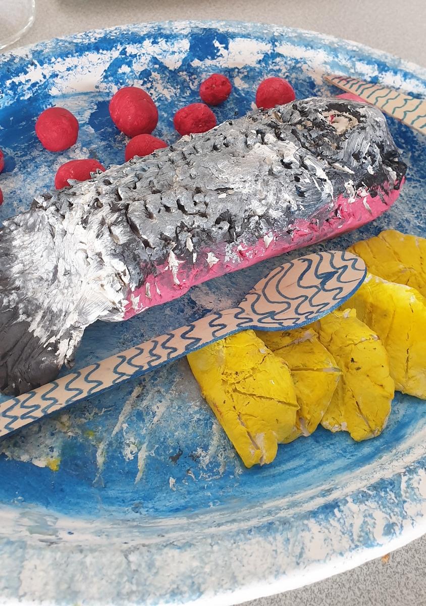 saumon (eat-art)