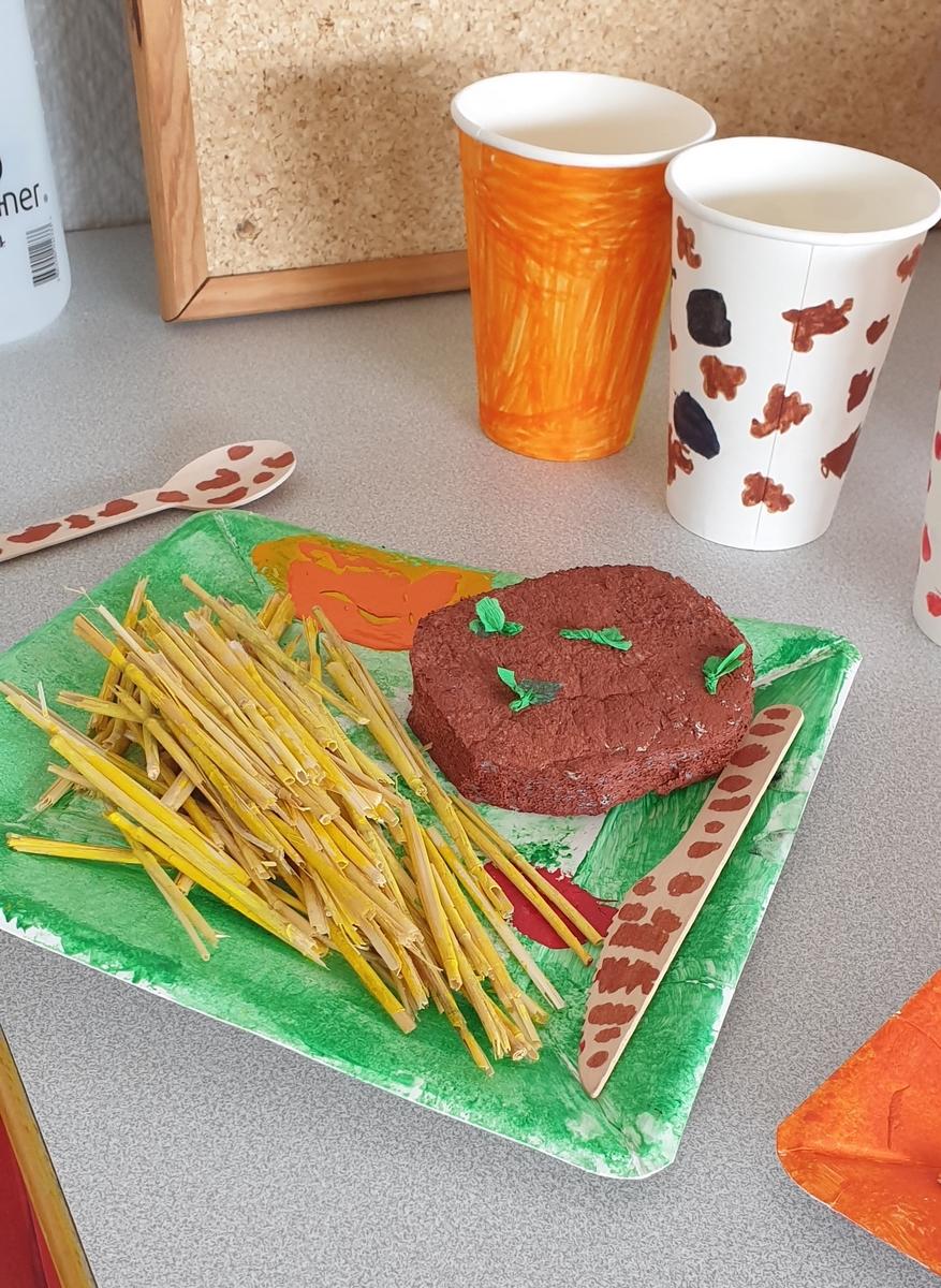 steak haché - frites (eat art)