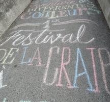 Le Festival de la craie : voir la vie en couleurs !