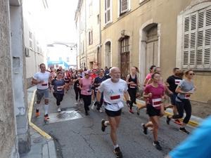 La course des 10km est lancée